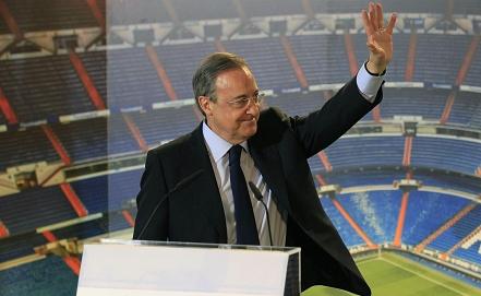 """Президент """"Реала"""" Флорентино Перес. Фото EPA/ИТАР-ТАСС"""