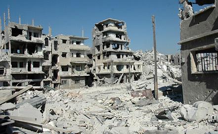 Сирия. Хомс. Фото EPA/STR