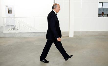 Глава МИД Франции Лоран Фабиус. Фото ИТАР-ТАСС/EPA/YOAN VALAT