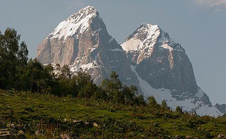 Гора Ушба. Фото ИТАР-ТАСС/ Митя Алешковский