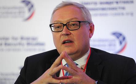 Сергей Рябков, фото из архива ИТАР-ТАСС/ Сергей Карпов