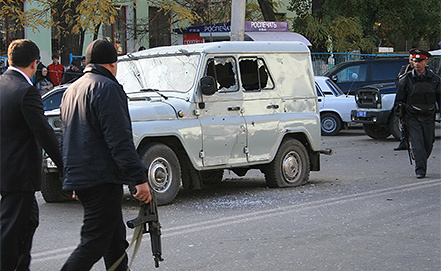 Вооруженное нападение в Махачкале. Фото из архива ИТАР-ТАСС/ Руслан Алибеков/ NewsTeam