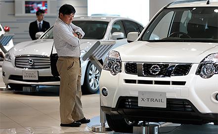 Внедорожник Nissan X-trail. Фото EPA/KIYOSHI OTA