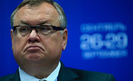 Глава ВТБ Андрей Костин. Фото ИТАР-ТАСС/ Сергей Карпов