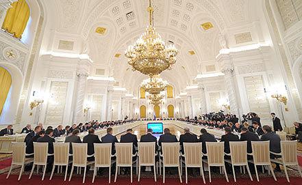 Заседание Государственного совета РФ в Кремле. Фото ИТАР-ТАСС/ Алексей Дружинин