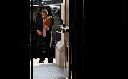 Джон Бейнер. Фото AP Photo/ Evan Vucci