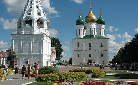 На территории Коломенского кремля. Фото ИТАР-ТАСС/Борис Кавашкин
