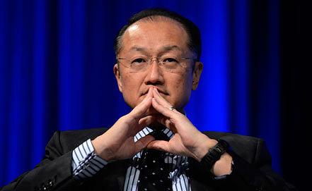 Президент Всемирного банка Джим Ён Ким. Фото EPA/SHAWN THEW