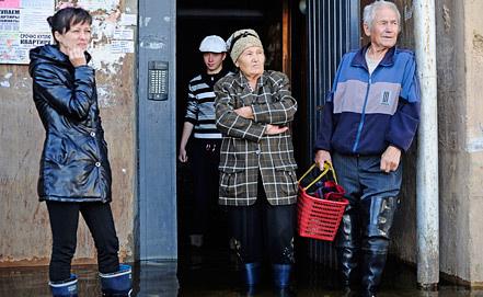 Комсомольск-на-Амуре во время наводнения. Фото ИТАР-ТАСС/ Сергей Бобылев