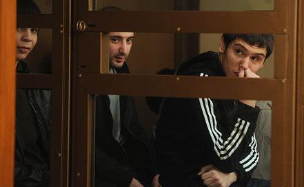 Ахмед Евлоев, Ислам Яндиев и Башир Хамхоев. Фото ИТАР-ТАСС/ Валерий Шарифулин