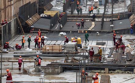 Строительство тоннеля. Фото ИТАР-ТАСС/ Артем Геодакян