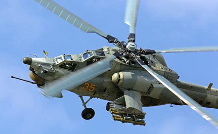 Российский ударный вертолет Ми-28. Фото ИТАР-ТАСС/ Марина Лысцева