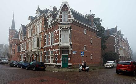 Здание в Гааге с квартирами сотрудников посольства РФ, Фото EPA/MARTIJN BEEKMAN