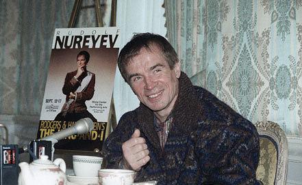 Рудольф Нуреев в Бостоне. 1989 год. Фото AP Photo/Carol Francavilla