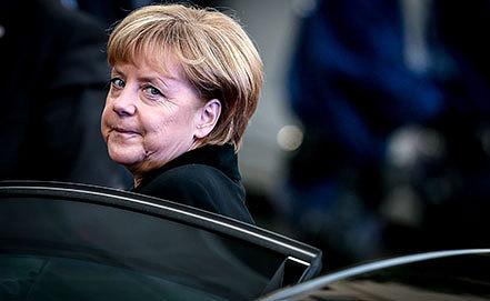 Ангела Меркель. Фото EPA/OLIVIER HOSLET
