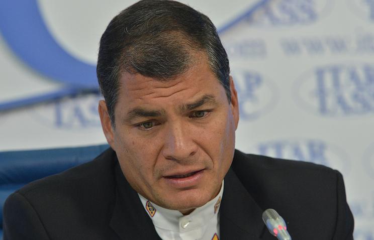 Президент Эквадора Рафаэль Корреа. Фото ИТАР-ТАСС/Юрий Машков