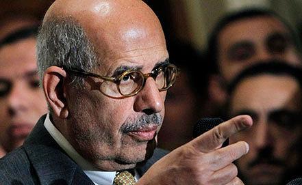 Мухаммед аль-Барадеи. Фото AP Photo/Amr Nabil