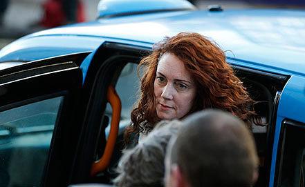 Ребекка Брукс. Фото AP Photo/Lefteris Pitarakis
