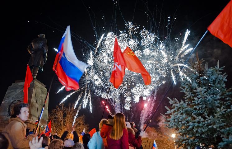 Севастополь празднует присоединение к России