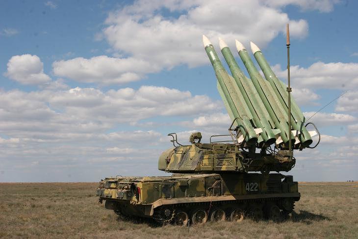 """Зенитно-ракетный комплекс """"Бук-М2"""""""