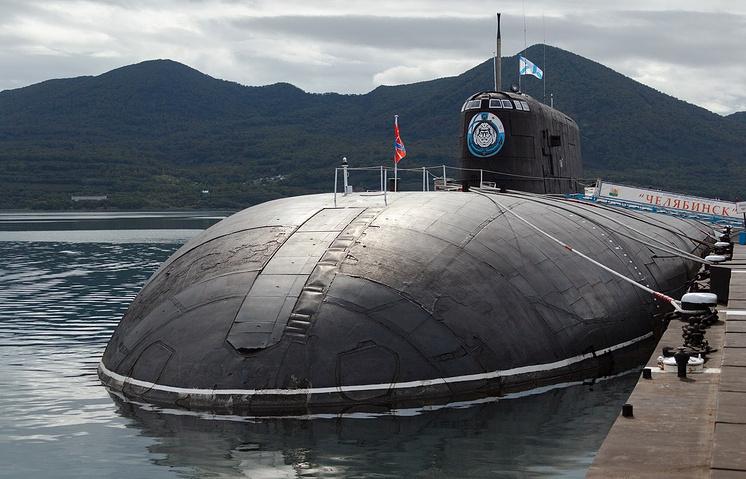 """Атомный подводный ракетоносный крейсер """"Челябинск"""""""