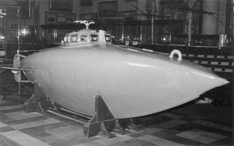 Подводная лодка С.К.Джевецкого в Центральном Военно-морском музее