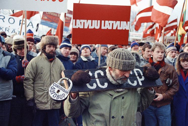 Антисоветские выступления в Риге в январе 1991 года