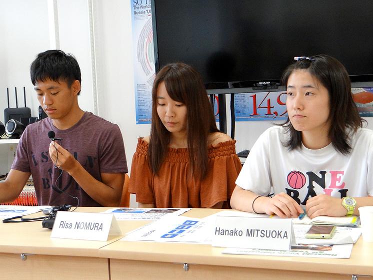 Члены Молодежной делегации Нагасаки