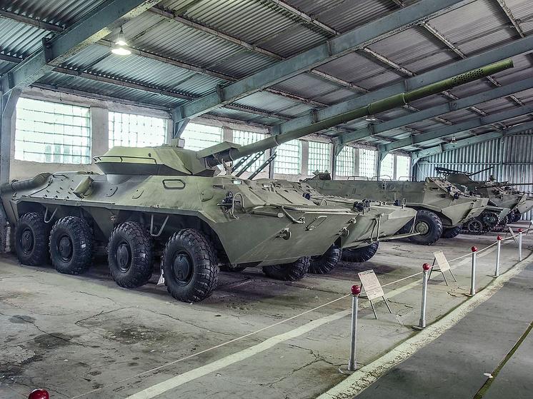 """Советская опытная 85-мм противотанковая пушка 2С14 """"Жало-С"""""""