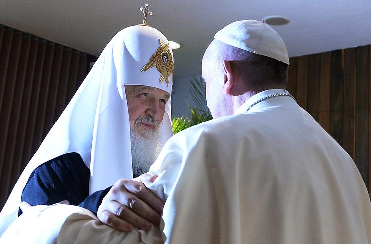 Встреча патриарха Московского и всея Руси Кирилла и Папы Римского Франциска в Гаване, 2016 год
