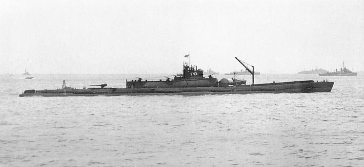 Японская подводная лодка серии I-400