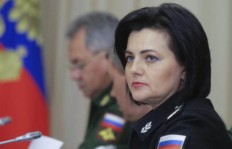 Замминистра обороны РФ Татьяна Шевцова