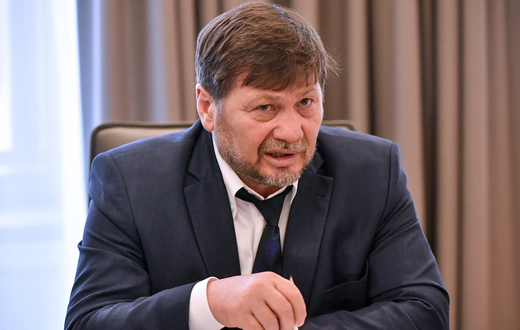 Первый заместитель министра РФ по делам Северного Кавказа Одес Байсултанов